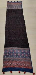 New Katha Stole with Organic Cotton and Block Print