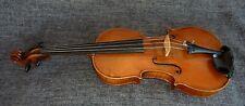 alte Geige 4/4 Violine Zettel Old Violin with Label spielfertig
