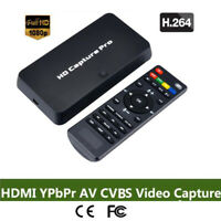 HD Pro HDMI Game Video Capture Card Recorder Time Schedule recording TV Playback
