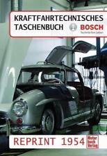 Kraftfahrtechnisches Taschenbuch Reprint 1954 (2013, Gebundene Ausgabe)
