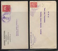 Panama     2 covers to Eastman Kodak Co  US                   MS0619