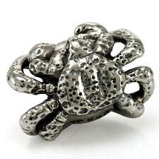 ALASKA KING GRANCHIO Autentico Solid Sterling Silver Charm OHM Bead aaa004