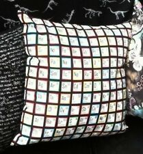 """PERIODIC TABLE CUSHION COVER CHEMICAL SCIENCE GIFT 100% COTTON 16""""x16"""""""