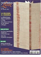 ART & METIERS DU LIVRE N°284 LA BELGIQUE A L'HONNEUR / LIVRES IMPROBABLES