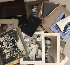 VTG BLACK & White Photo Album HollywooD Storage California HUGE Old Photos Lot