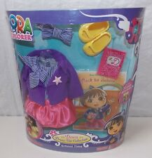 Fisher Price Dora The Explorer Doll School Time Dress-Up Clothing Outfit Set