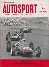 Autosport 7 Sep 1962 - Jim Clark's Gold Cup, Crystal Palace, SUNBAC Silverstone
