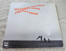 Lullabies and Other Children's Songs LP Nancy Raven Pacific Cascade Records