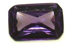 10x6.5 mm 3.5 cts Octagon  Purple Russian CZ AAAAA