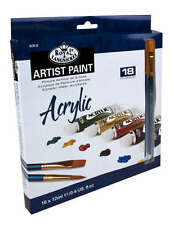 Royal & Langnickel Racr18 12ml Acrylic Paint 18-color Set