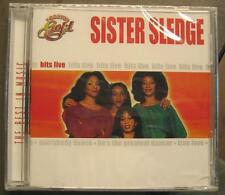 "SISTER SLEDGE ""THE BEST IN MUSIC - HITS LIVE"" - CD - OVP"