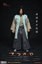 """1/6 Wolfking WK89007A Sasaki Kojiro Japan Samurai 佐佐木小次郎 12"""" Action Figure"""