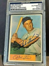 1954 Ralph Kiner Auto PSA/DNA Topps PITTSBURGH PIRATES Authentic Autograph #45