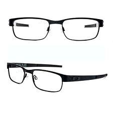 Oakley METAL PLATE 22-198 Matte Black Titanium 53/18/140 Eyeglasses Rx #02