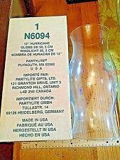 Partylite 12� Hurricane Shade Globe candle Glass N6094 Rare, Fancy, Designer !