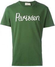 Brand New - Maison Kitsune Parisien Green T shirt Top - XL - BNWT