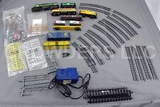 Life Like Burlington Northerner & Chessie System Locomotives & Hobby Transformer