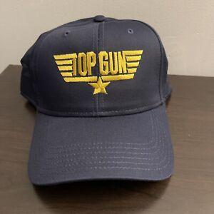 TOP GUN Snapback Hat. BRAND NEW TOM CRUISE MOVIE BIOWORLD PARAMOUNT HALLOWEEN