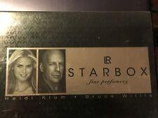 LOT COFFRET 34 PARFUM flacon de COLLECTION miniature LR Star-box edition STARBOX