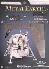 Fascinations Metal Earth Apollo Lunar Module 3D Miniature Steel Space Ship  00004000 Model