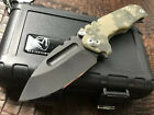 Medford Knife and Tool Micro Praetorian Camo G10 D2 Unused In Box/case