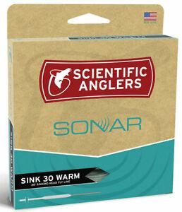 SA Sonar Sink 30 Warm WF-400-S Fly Line  Blue / Black - SALE & Free US Ship