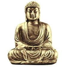 Buddha Statue Sculpture Meditating Antique Style Home Decor Ornament