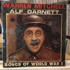 [COMEDY]~EXC LP~WARREN MITCHELL~[ALF GARNETT]~Songs Of World War 1~[UK IMPORT]