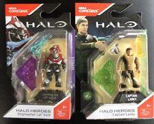 Mega Halo Heroes SERIES 7 LASKY And Series 6 ShipMaster FMM72 & FMM77