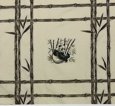 "PANDA BEAR BAMBOO TILE BEIGE D3031 HIGH END DESIGNER JACQUARD FABRIC BY YD 57""W"