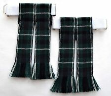 KILT FLASHES TARTAN GRAHAM OF MONTROSE WORSTED WOOL SOCK HOSE MADE IN SCOTLAND