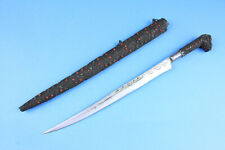 North African  Flyssa Knife with Gem Stones - 14948
