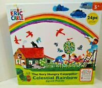 The Very Hungry Caterpillar  Eric Carle  24 piece Puzzle   Ages 5+ New