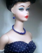 Dreamz NAVY BLUE Graduated Pearl Necklace Doll Jewelry Gay Parisienne for Barbie