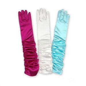 ELSA & ANNA® Girls Party Gloves Snow Queen Princess Fancy Dress Costume Gloves