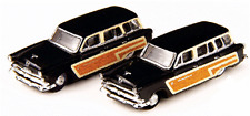 N Scale-Classic Metal Work-50320-1953 Ford Country Squire Wagon -Raven Black