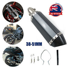 Universal Motorcycle Exhaust Muffler Pipe Removable DB Killer Slip on 38-51mm J