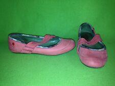 Peachy Pink Soft Leather Cubana's Flats 6.5 37