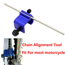 Adjusting Chain Sprocket Alignment Tool For Most Motorcycle Motorbike Aluminum