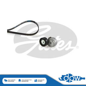 Gates Alternator Belt Kit Pulley Tensioner Fits Iveco Daily 2.8 3.0 7701477572