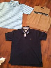 Mens Size XL Lot Polo Sweater Vest Tommy Hilfiger American Eagle