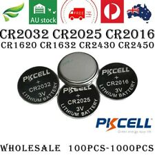 PKCELL CR2032 3V Coin Cell Battery - Pack of 5