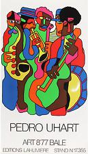 Pedro UHART (1938) Grande Affiche Originale de 1977 (102x58cm) Art BALE