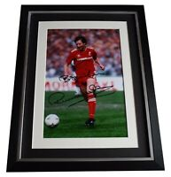 Ronnie Whelan Signed Autograph 16x12 framed photo display Liverpool Football COA