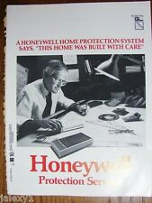 1986 HONEYWELL Home Protection Security System Products Engineer Vintage Catalog