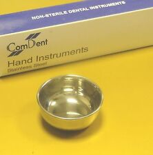 Chirurgie dentaire implant osseux mélange cup utilitaire bol 40 x 25mm st steel ce
