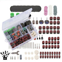 281Pcs Rotary Drill Tool Accessories Set Polishing Kit For Dremel Grinding Steel