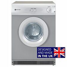 White Knight Vented Tumble Dryer C44AS Silver Reverse