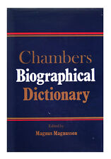 Chambers Biographical Dictionary (Hardcover 1993) Edited by Magnus Magnusson