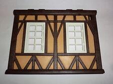 Playmobil Château-fort Poterie Mur jaune Ferme avec fenêtre 3455 3666